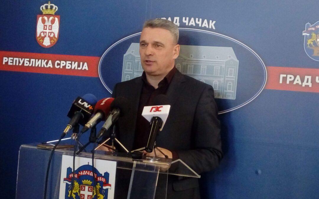 Čačanski Gradski odbor SNS-a traži razrešenje Nebojše Stefanovića