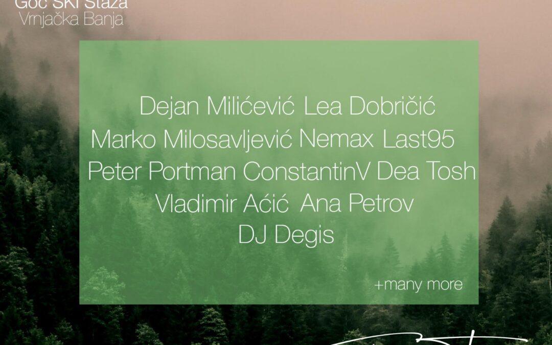 Zvezde elektronske muzike krajem juna na Goču, dobro raspoloženje i podizanje ekološke svesti na jednom mestu