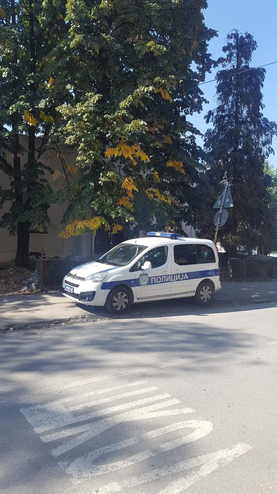 Incident u čačanskom Crvenom krstu, intervencija policije u toku