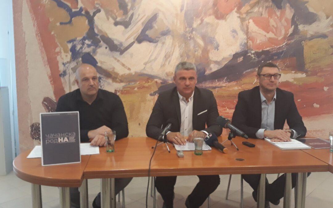 Čačak prva prestonica kulture Srbije za 2023. godinu